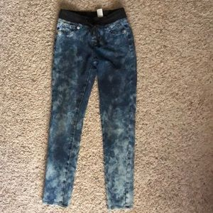 Justice jeggings size 10R
